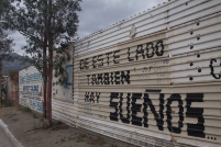 Mexican border at Tecate.